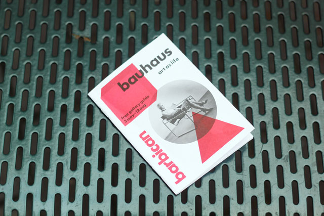 Barbican - Bauhaus Art as Life London