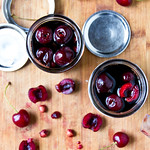 Balsamic Pickled Cherries
