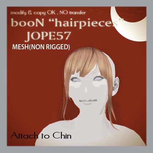 booN JOPE57 hairpieces