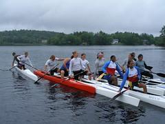 C2 canoeists