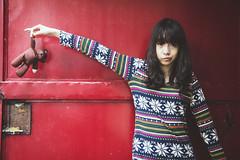[フリー画像素材] 人物, 女性 - アジア, ぬいぐるみ ID:201208010800