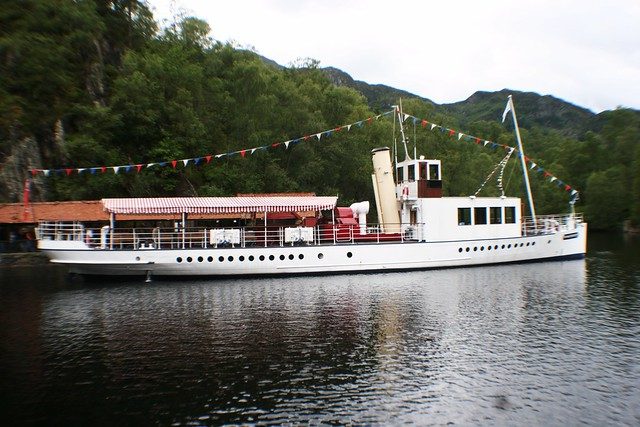 S.S.Sir Walter Scott, Loch Katrine