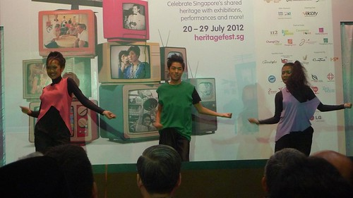 Launch of Singapore HeritageFest 2012