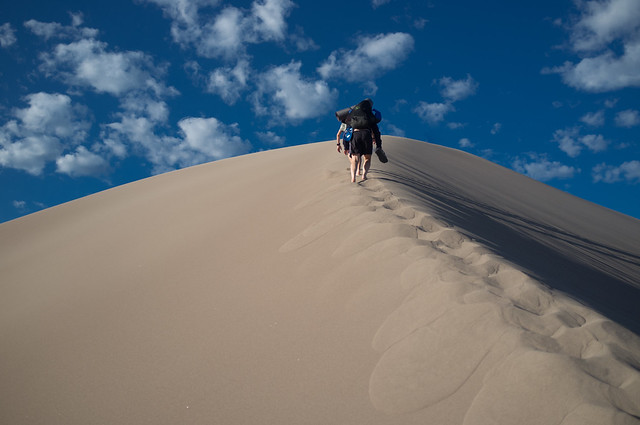 Sand Dunes, Climbing, Mountain, Sand, Summer, Awesome, Sky
