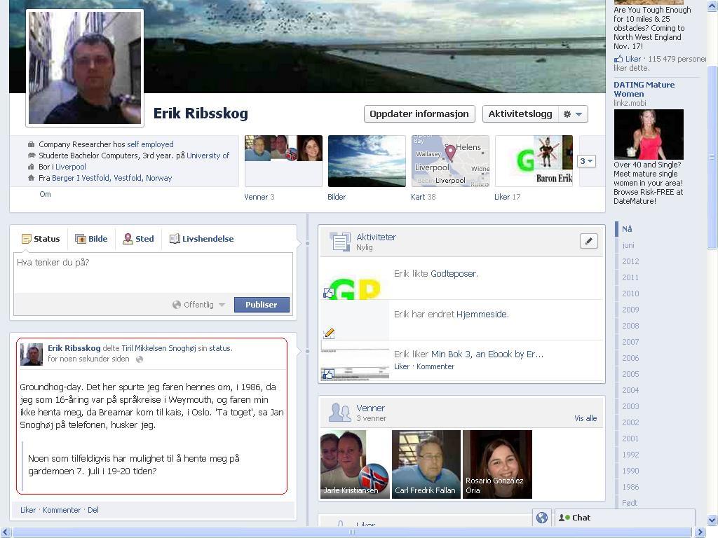 groundhog day facebook