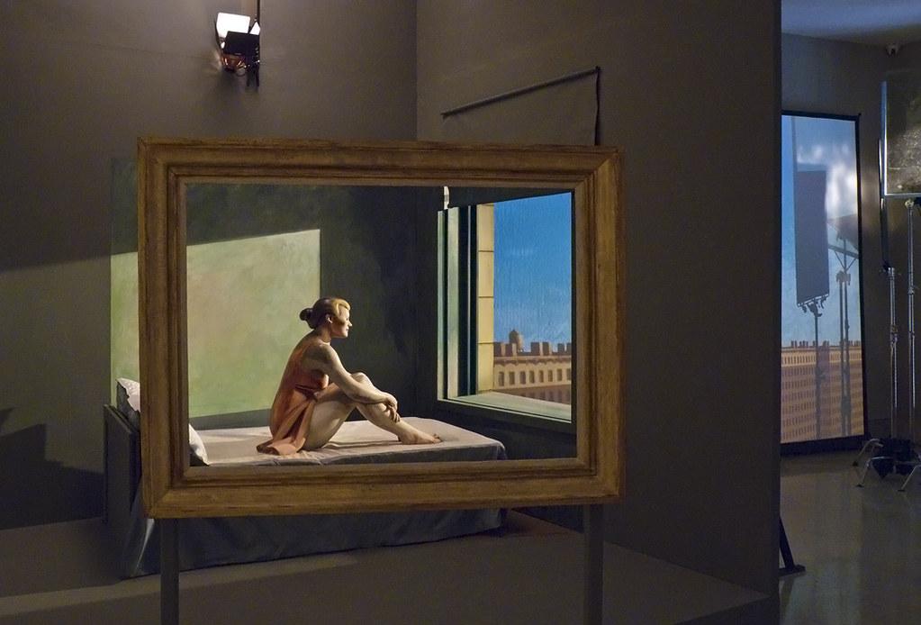 Exposición Edwar Hopper en el museo Thyssen-Bornemisza de Madrid