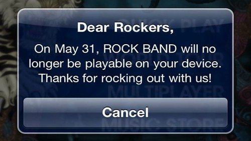 Rock Band Removal