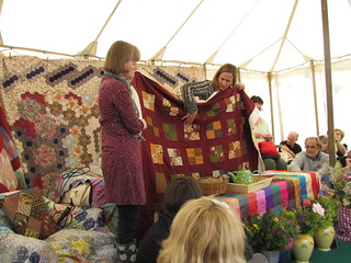 Quilt show and tell