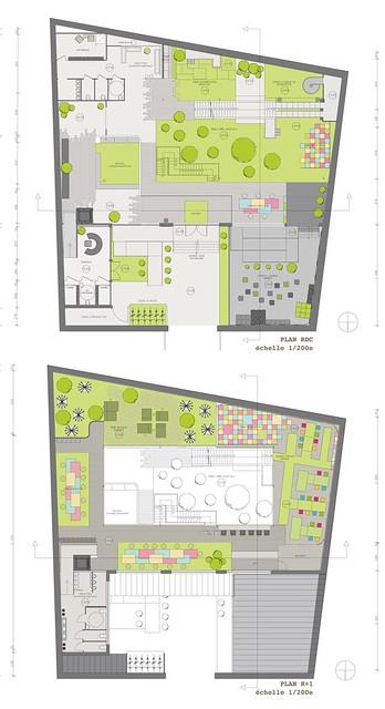 plan 5 me ann e d 39 architecture int rieure design esam