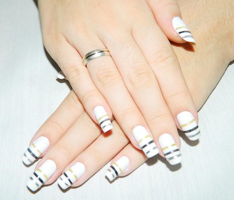juliana leite nail tutorial unha decorada passoa passo adesivo 069
