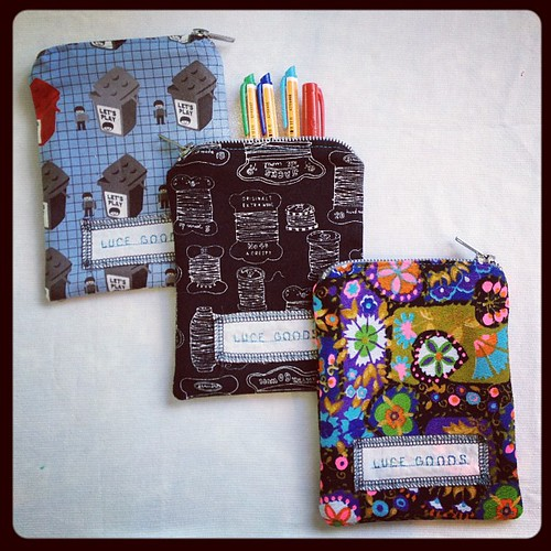 More fun ways to compartmentalize...www.lucegoods.bigcartel.com by luce goods
