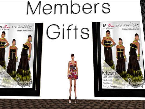 [LIV-Glam] Summer 2012 1000 Members Gift by Cherokeeh Asteria