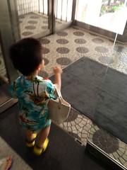 朝散歩 出発! (2012/7/28)