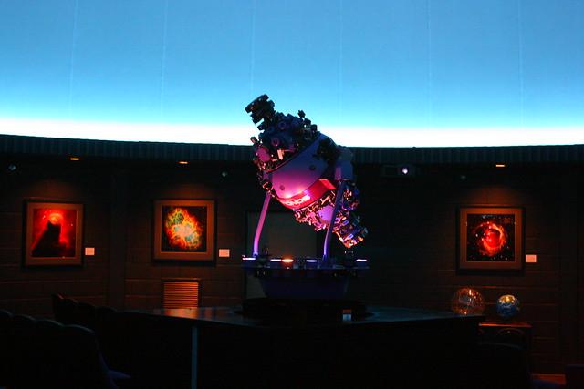 Rollins Planetarium - Young Harris College