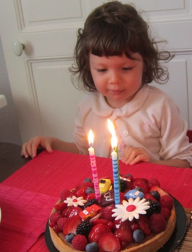 Eva turns 3!