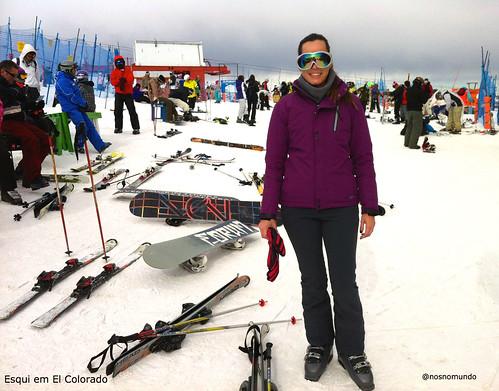 Esqui em El Colorado