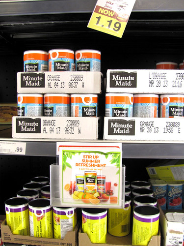 Product Testing: Minute Maid Peach
