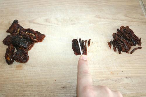 15 - In Streifen schneiden / Cut into slices