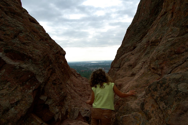 City view - Climbing at Red Rocks, Boulder, CO