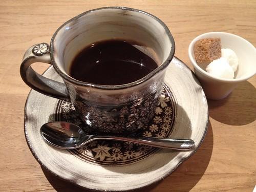 こちらは食後のコーヒー@シャントレル