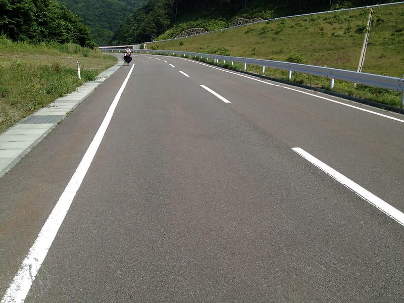 仏ヶ浦へ向かう道