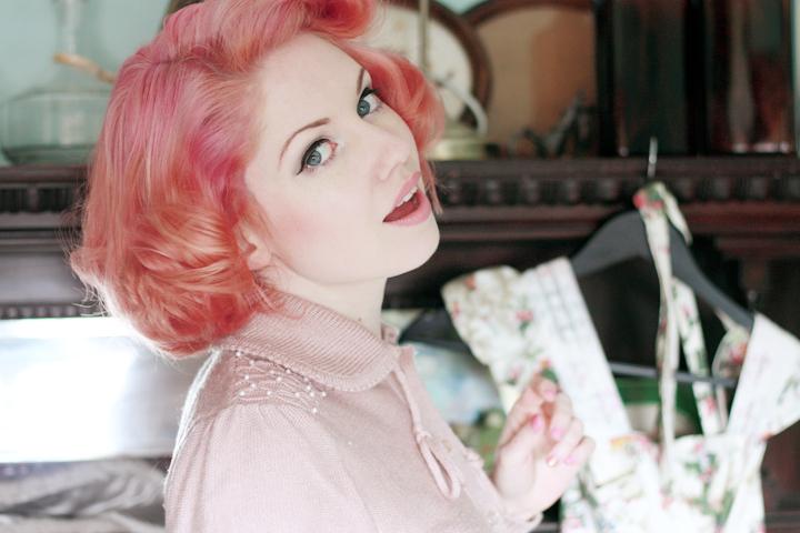 pink hair a