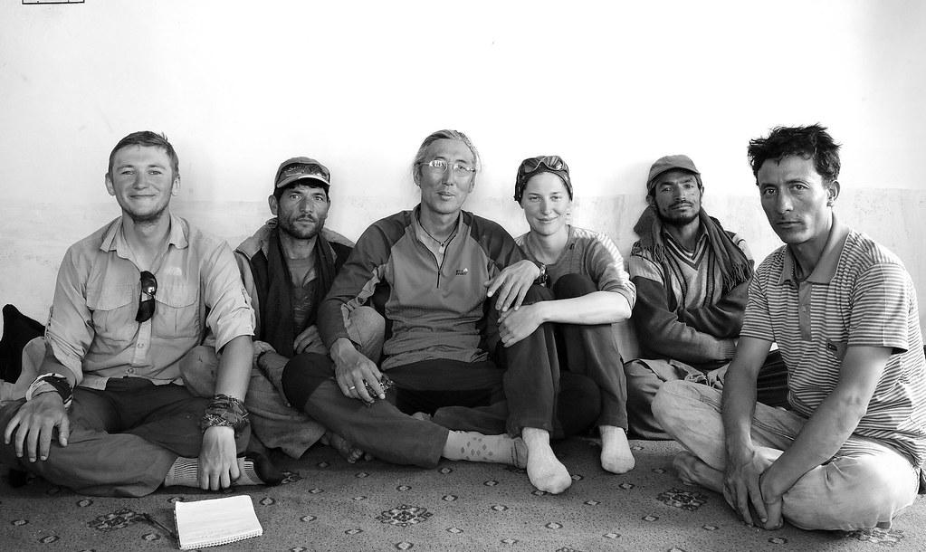 Our trekking team, Kunde