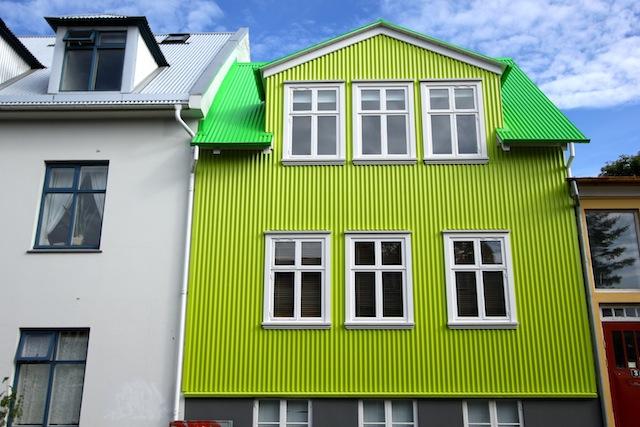 Neon house Reykjavik