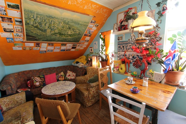 Cafe Babalu cozy interior