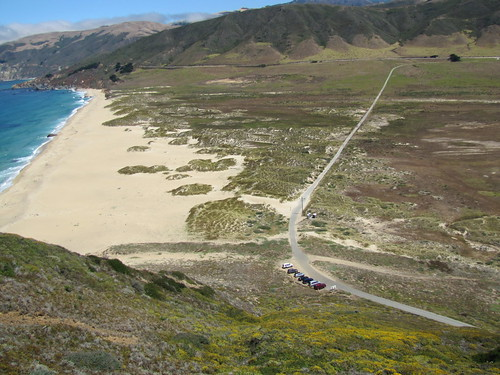 Private road from Highway One to Point Sur Lightstation