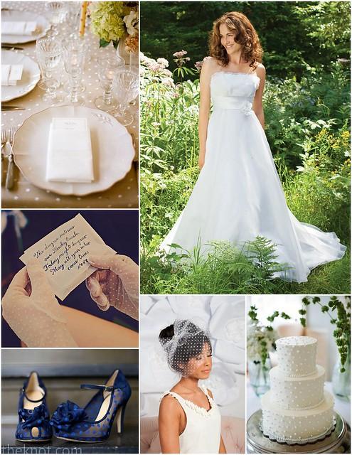 Swiss Dot Bridal Style Inspiration
