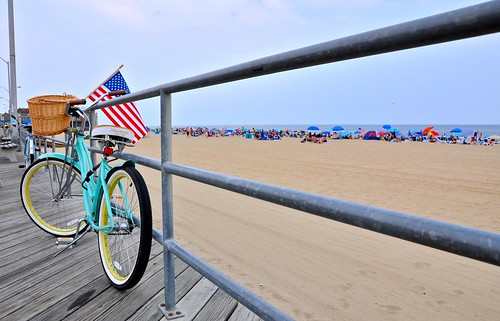 Bike on the Boardwalk