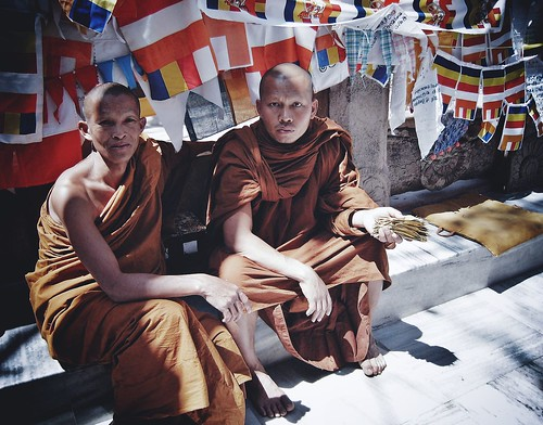 bodh gaya, india by Str8Sighted.