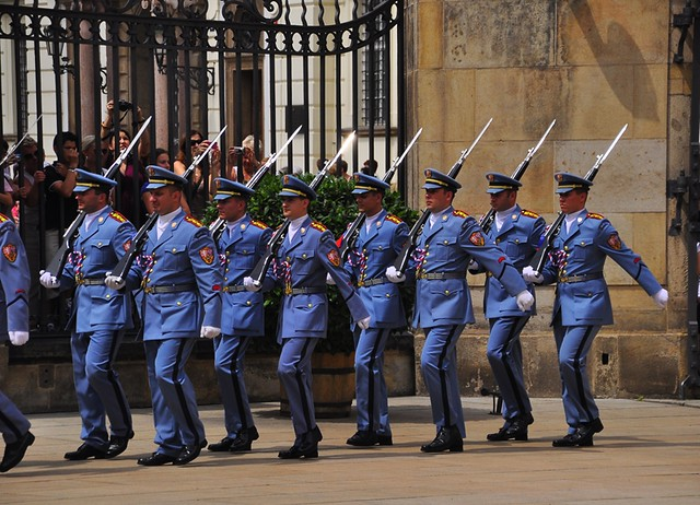 Changing of the Guard, Prague Castle