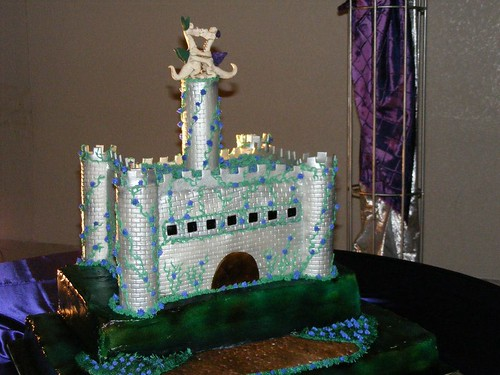 The amazing wedding cake!