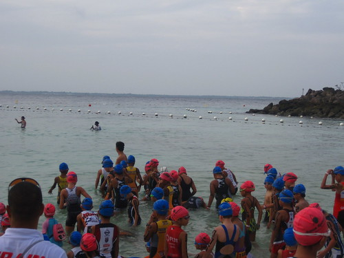 Ironman 70.3 Philippines: Ironkids swim recon