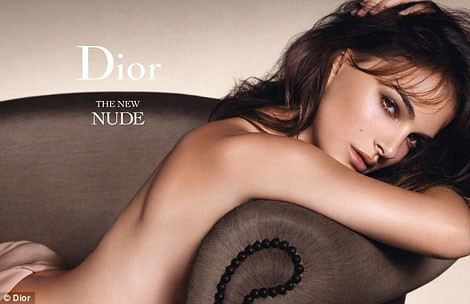 Natalie Portman pour Dior The New Nude