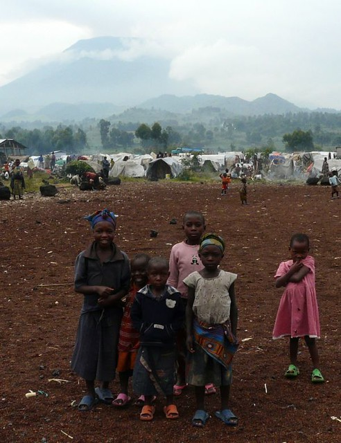 Population displacement in eastern DRC from Flickr via Wylio