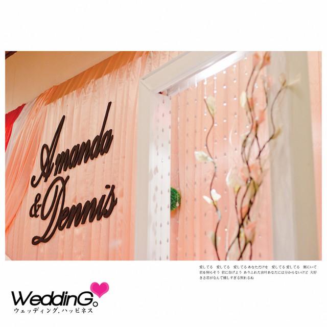 Amanda & Dennis Wedding Reception1