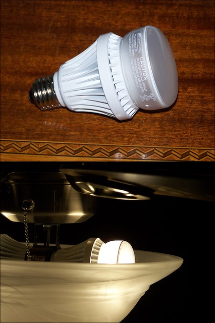 new practical led bulbs available at costco flickr photo sharing. Black Bedroom Furniture Sets. Home Design Ideas