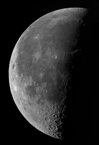 Early morning Moon 100812 by Mick Hyde