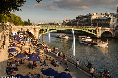 Paris Plage, August