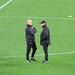Small photo of Alex Ferguson and Mike Phelan