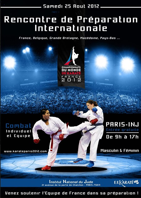 Rencontre de pr paration internationale karate bushido - Institut national du judo porte de chatillon ...