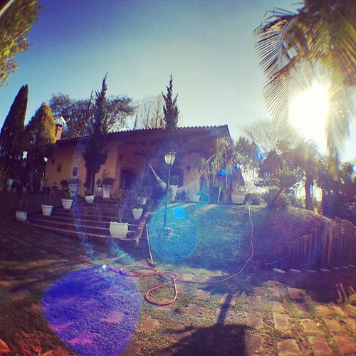 Country house. #fisheye #sun #saoroque