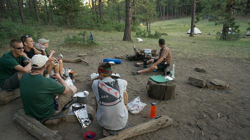 Camp at Deer Lake Meadow