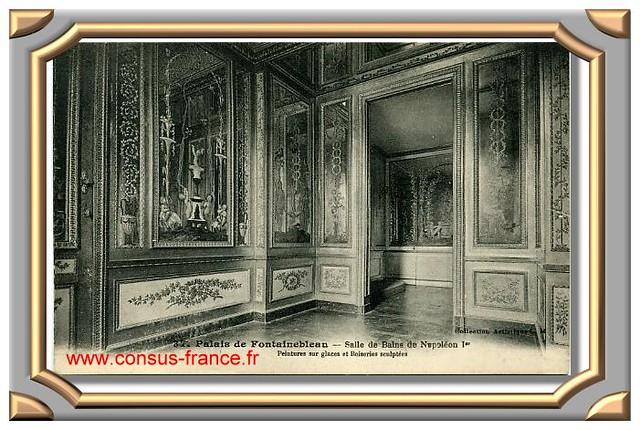 37 - Palais de Fontainebleau - Salle de Bains de Napoléon 1er -70-150