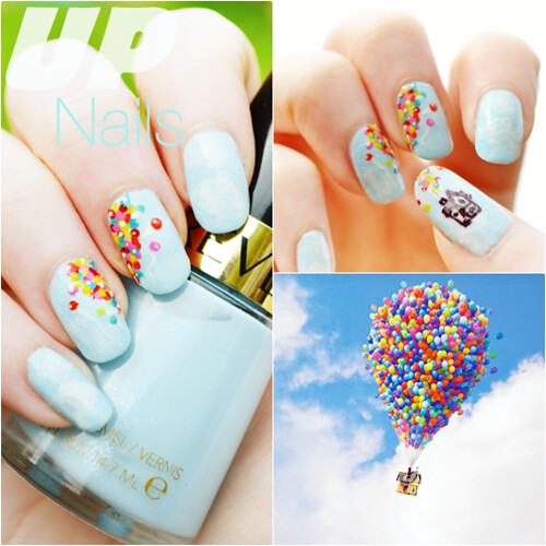 UP Pixar nails