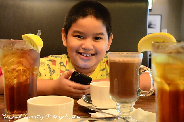 beverages at chicago ribs restaurant, penang