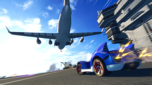 Sonic & All-Stars Racing Transformed - Gamescom Screens